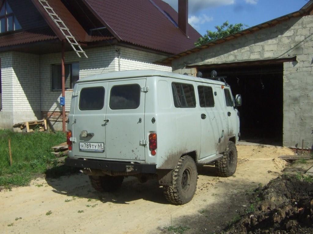 Ремонт автомобиля УАЗ «буханка» своими руками 9