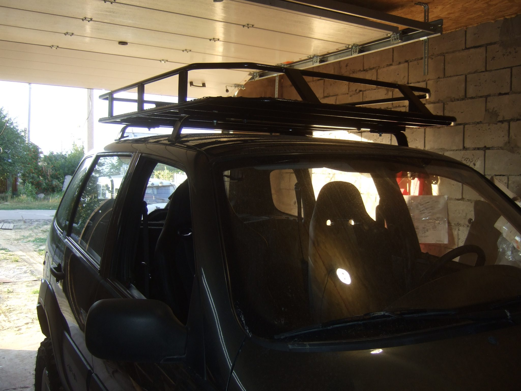 Багажник на автомобиль своими руками фото