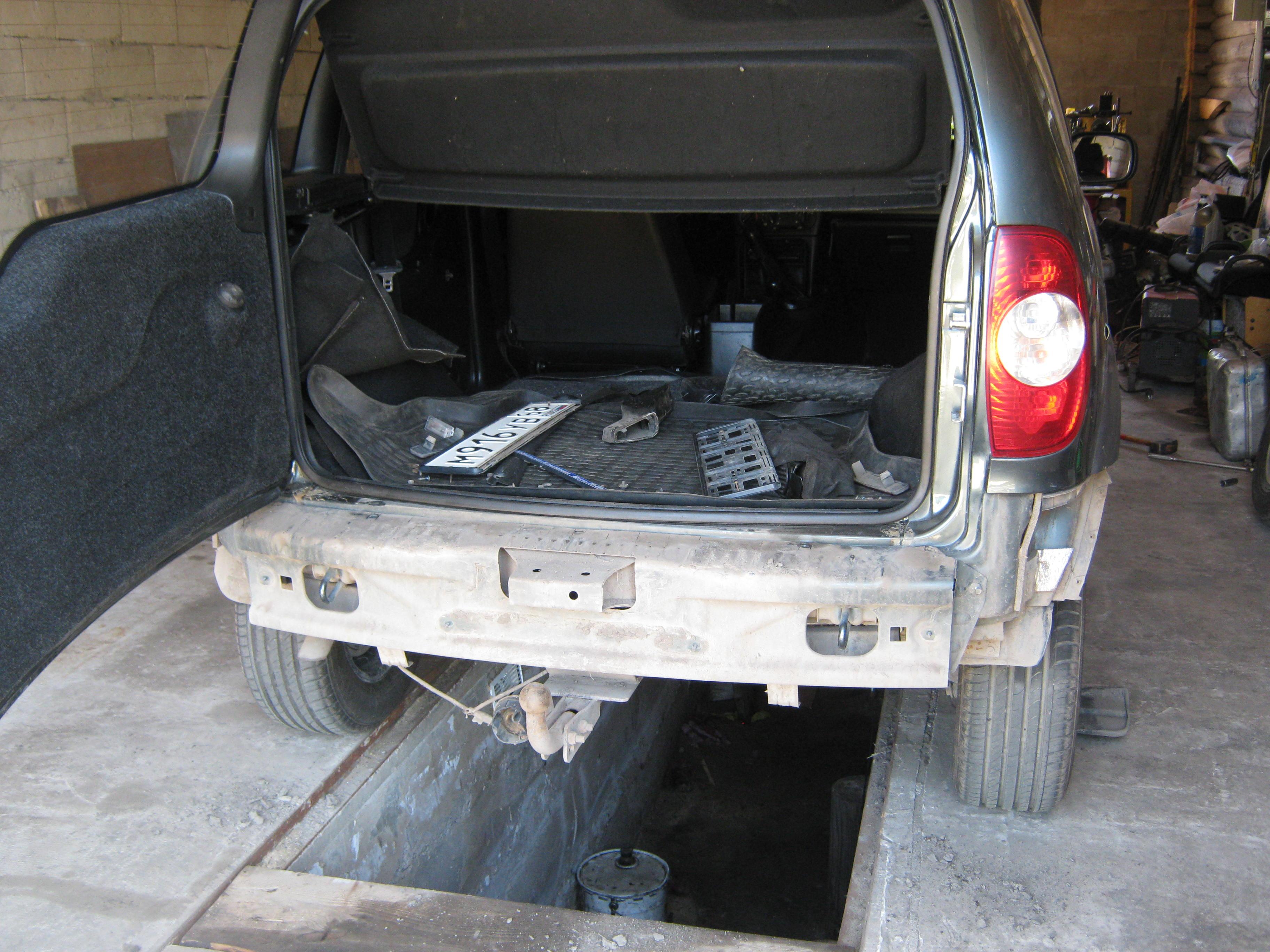 Антикоррозионная обработка. Мовиль. Часть 1 бортжурнал Chevrolet Niva 65