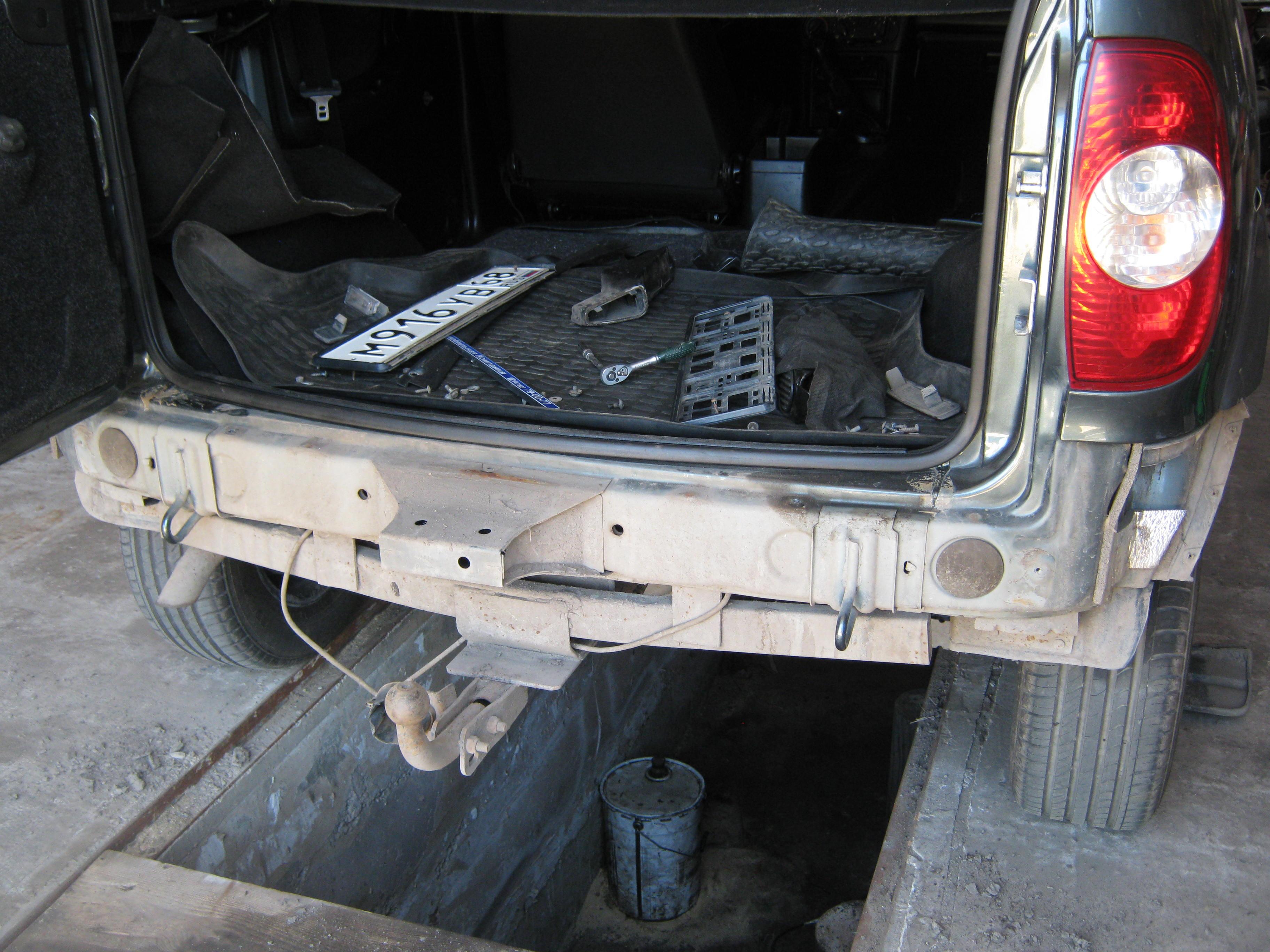 Антикоррозионная обработка. Мовиль. Часть 1 бортжурнал Chevrolet Niva 17